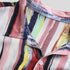 Stylish Men Button Shirts Multi Color Art Stipe Short Sleeve Summer Shirt Tops M-4X