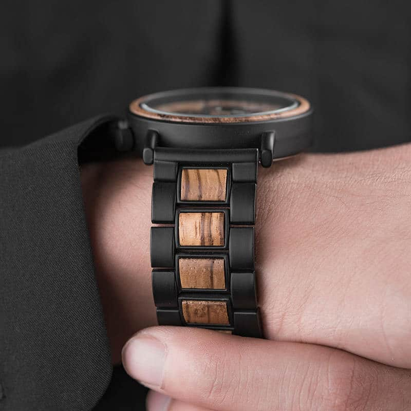 Best wooden watch | men's wooden watch | Zebrawood