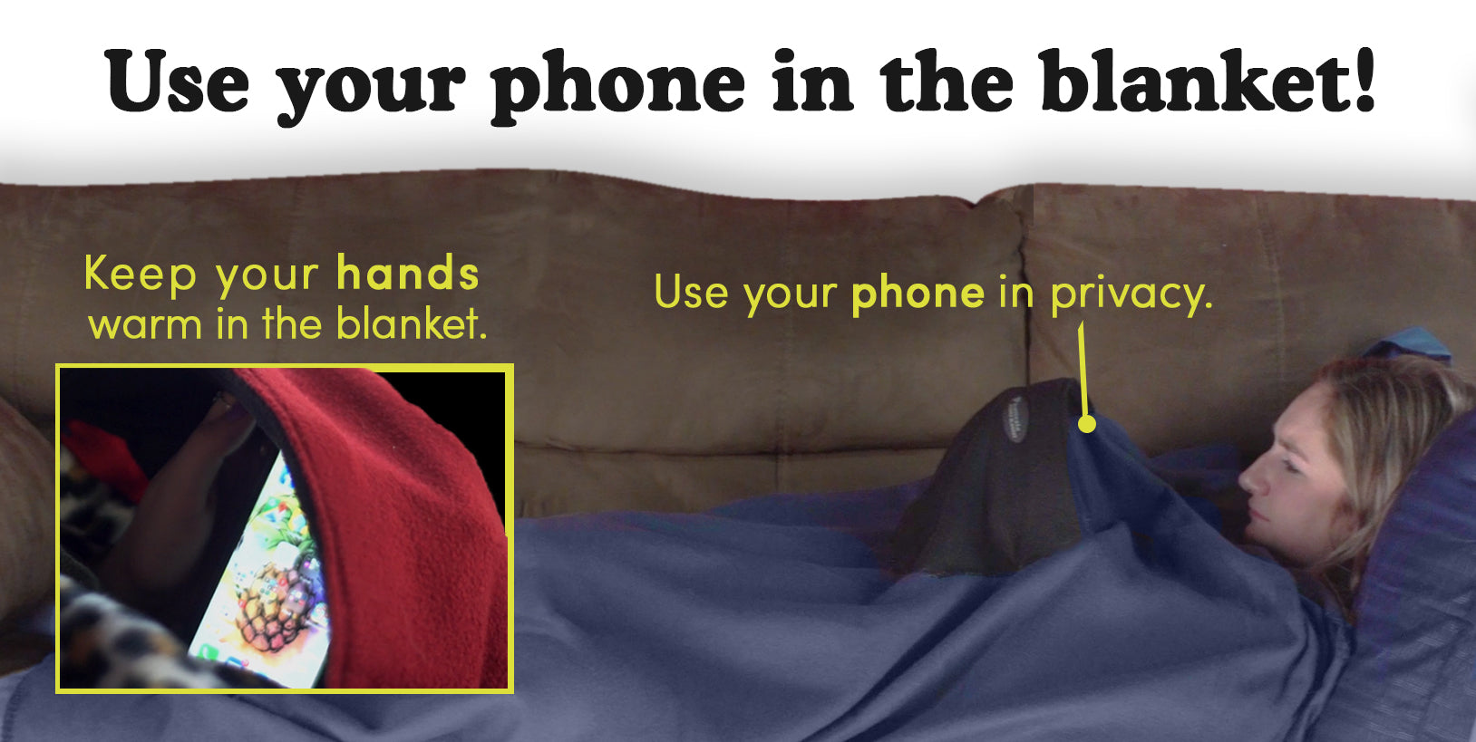 Original Phonesie Blanket