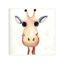 Load image into Gallery viewer, Gelato Giraffe Canvas
