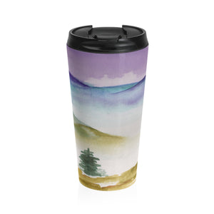 Foggy Valley Travel Mug