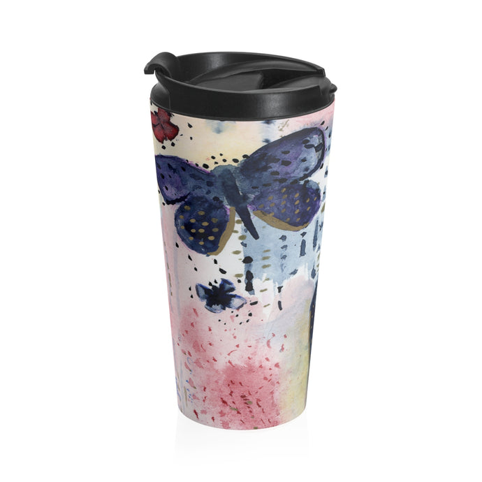 Flutterby Travel Mug