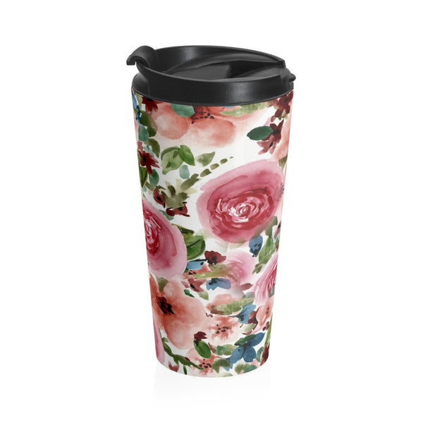 Florets Stainless Steel Travel Mug