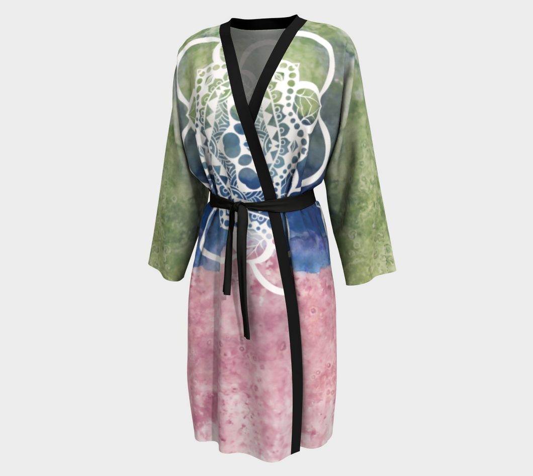 NeoEarth Mandala Peignoir Robe