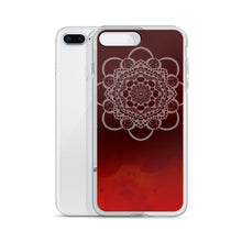 Load image into Gallery viewer, Red Mandala iPhone Case