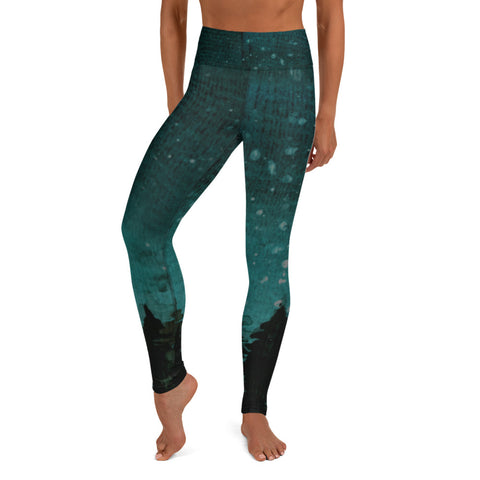 Ombre Pine Leggings