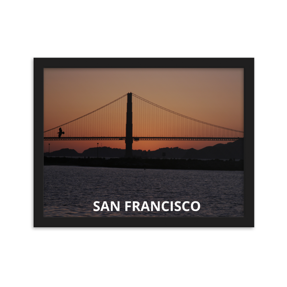 San Francisco Framed Poster