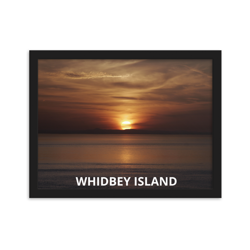 Whidbey Island Framed Poster