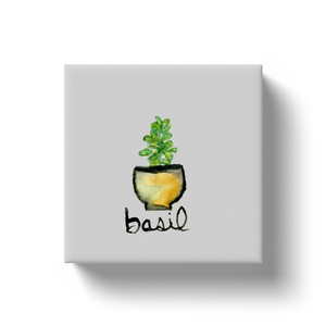 Basil Canvas Mini