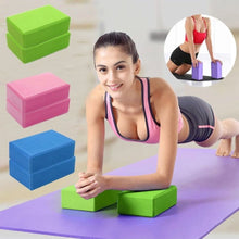 Load image into Gallery viewer, EVA Yoga Block Brick Sports Exercise Gym Foam Workout Stretching Aid Body Shaping Health Training Fitness Brick Q