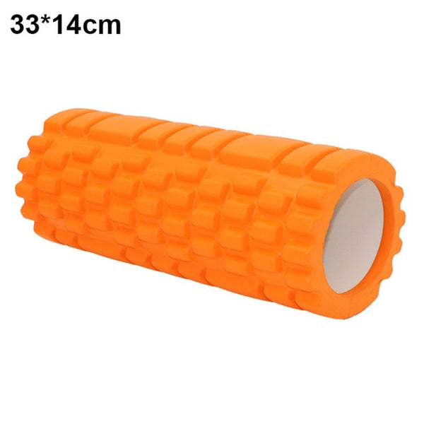 Fitness High Density Foam Roller Exercise Back Muscle Pilates Yoga Training Massage Physiotherapy 55 B2Cshop