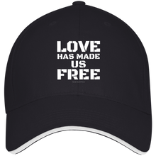 Load image into Gallery viewer, Love Has Made Us Free Cap
