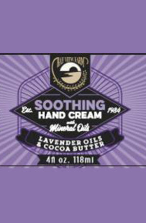 Bay View Farm Soothing Hand Cream