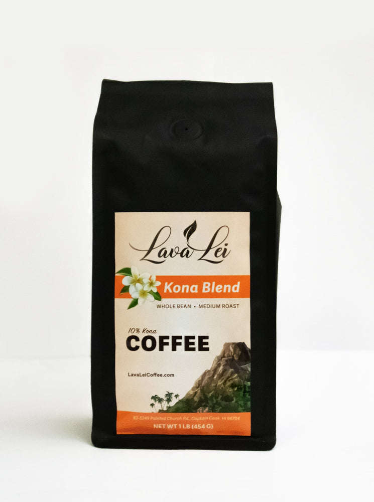 Lava Lei Blend - The Bay View Coffee Farm in Kona, Hawaii