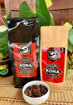 Medium Roast 100% Kona Coffee 7oz, 1lb, Whole Bean or Ground