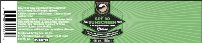 Bay View Farm Sunscreen w/mosquito repellent - The Bay View Coffee Farm in Kona, Hawaii
