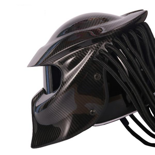 Carbon Fiber Motorcycle Helmets >> Dot Certification Predator Carbon Fiber Motorcycle Helmet V1
