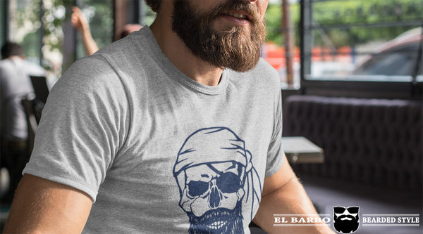 T-Shirt Tête de Mort Barbu El Barbo