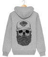 Sweat à capuche Skull Bearded Style – El-Barbo