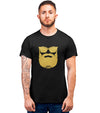 Tee Shirt-Hipster-Barbe-Noir-El Barbo