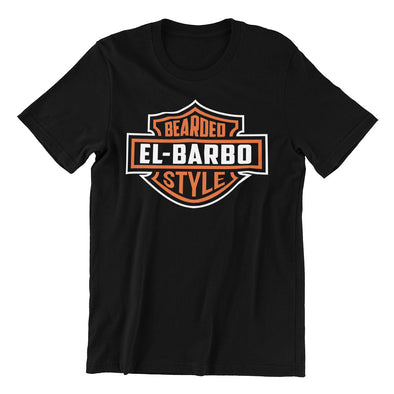 T-shirt Homme Biker Style Barbu EL BARBO