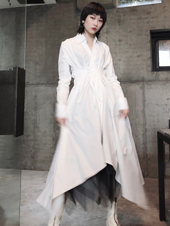 Cool Designed Irregular Long Dress