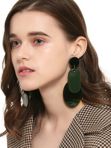 Split-joint Big Earrings