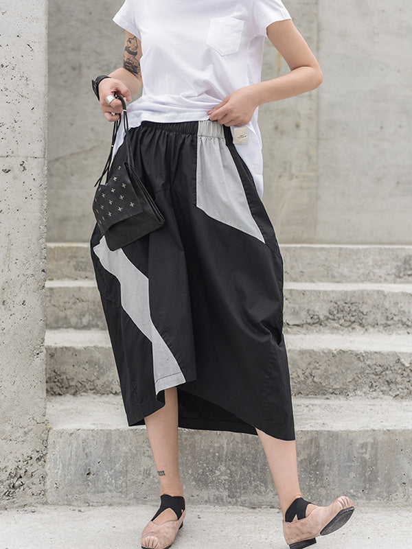 Original Split-joint Asymmetric Skirt