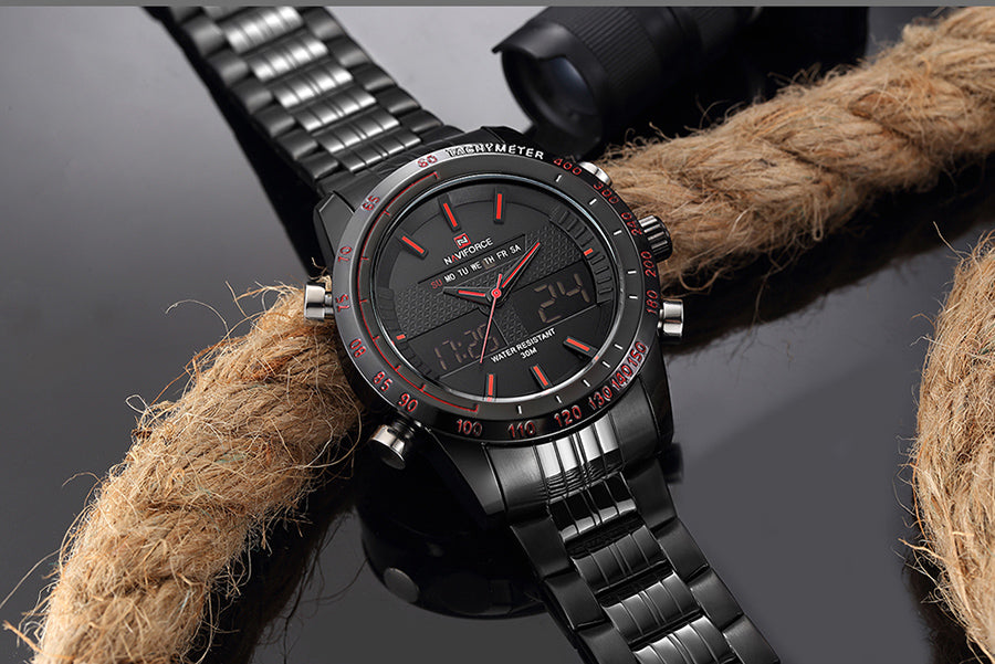 NAVIFORCE Luxury Brand Men Fashion Sport Watch - Imported from China |  Premium Quality