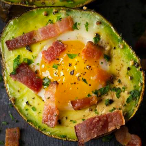 Avocado Egg Boat