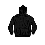 "OUTER SPACE ""black embroidered"" - Hoodie"