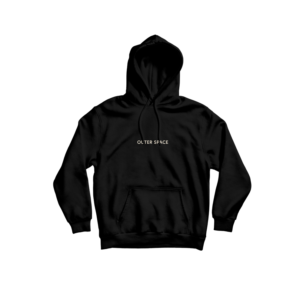 "OUTER SPACE ""sand embroidered"" - Hoodie"