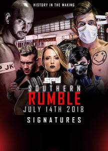 SPW Southern Rumble Poster - A3
