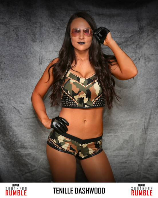 Tenille Dashwood 8x10 - Southern Rumble V1
