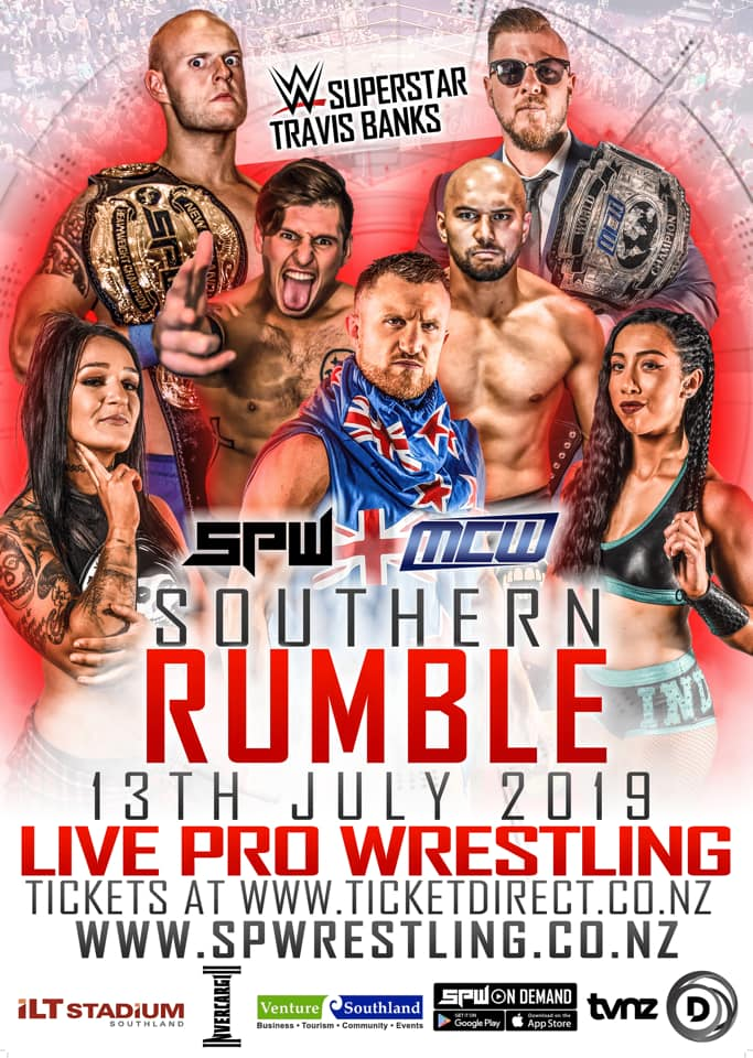 SPW Southern Rumble 2019 DVD PREORDER