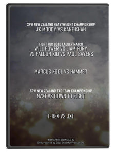 SPW Fight for Gold 2018 DVD