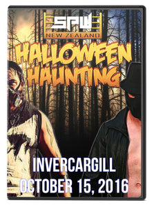 SPW Halloween Haunting 2016 DVD