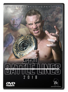SPW Battle Lines 2018 DVD