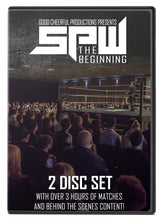 Load image into Gallery viewer, SPW The Beginning DVD (2 Discs)