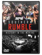 Load image into Gallery viewer, SPW Southern Rumble 2018 DVD