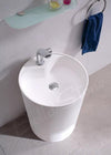 BSL15 freestanding stone basin 430mm
