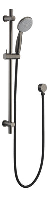 CLAS21B Shower Rail, Matt Black, Brushed Nickel, Brushed Gun Metal.