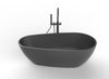 B001 1460, 1675, 1850mm Black Stone Bath Series