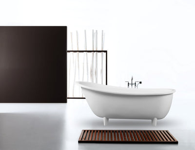 Toka Lite Olivier ST17 1620mm Black/White Bath