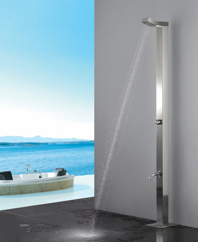 Sta10 Roc Stainless Steel Outdoor Shower