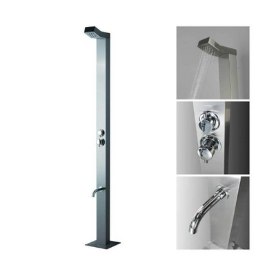 'Byron' Stainless Steel Outdoor Shower STA10