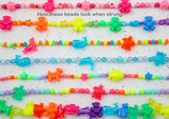 Teddy Bear Beads - 24mm Cute Bear Shape Acrylic or Resin Beads - 24 pc set