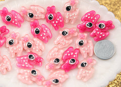 25mm Small Cute Baby Deer Cabochons – 8 pc set