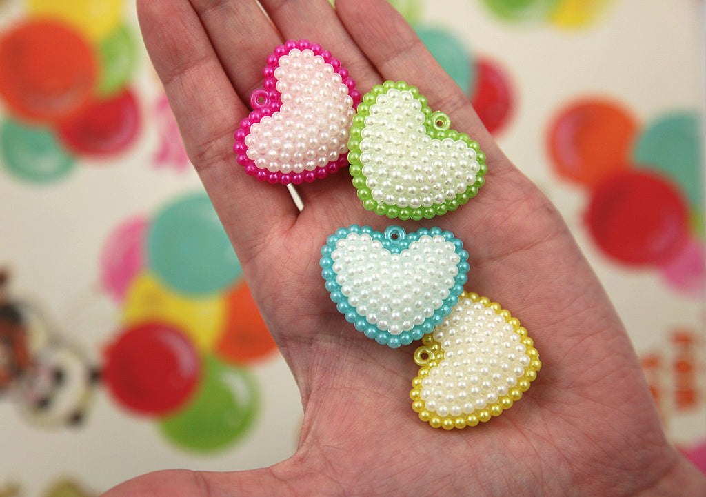 35mm cute pearly shiny heart plastic charms or pendants 7 pc set 35mm cute pearly shiny heart plastic charms or pendants 7 pc set mozeypictures Choice Image