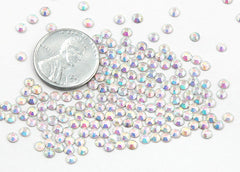 2.5mm AB Crystal Rhinestones - AB Crystal (SS10) - 200 pc set